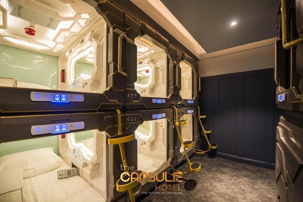 Capsule Hotel - Hotel Briefing Blog