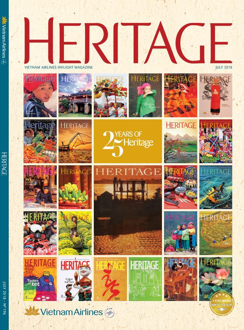Trang bìa Heritage Vietnam Airlines - Hotel Briefing Blog