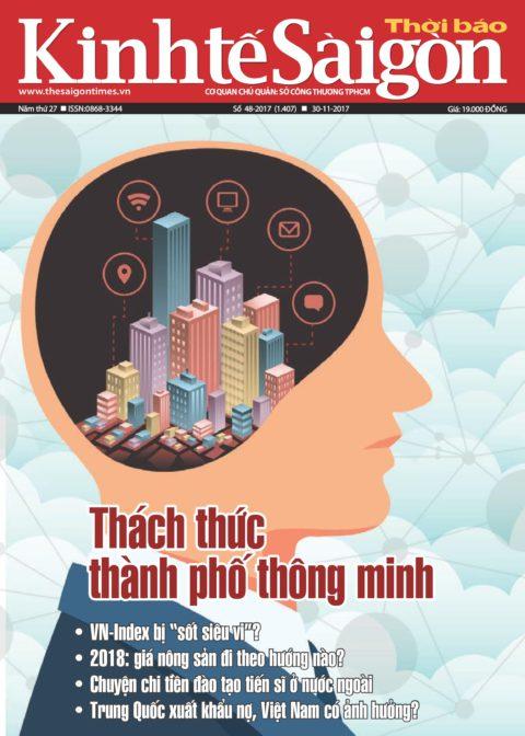 Trang bìa Thời báo Kinh tế Sài Gòn - Hotel Briefing Blog